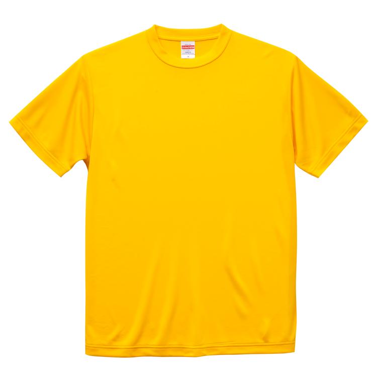 4.7オンスドライシルキータッチTシャツ(カナリアイエロー)