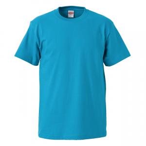 5.6オンスハイクオリティーTシャツ(ターコイズブルー)