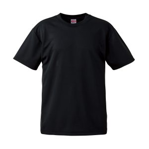 4.1オンスドライTシャツ(ブラック)