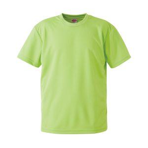 4.1オンスドライTシャツ(ライムグリーン)
