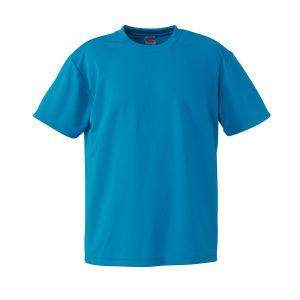 4.1オンスドライTシャツ(ターコイズブルー)