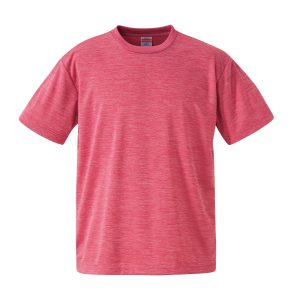 4.1オンスドライTシャツ(ヘザーピンク)