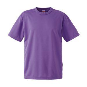 4.1オンスドライTシャツ(バイオレットパープル)