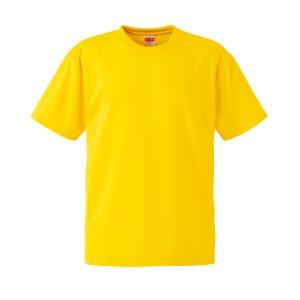 4.1オンスドライTシャツ(カナリアイエロー)
