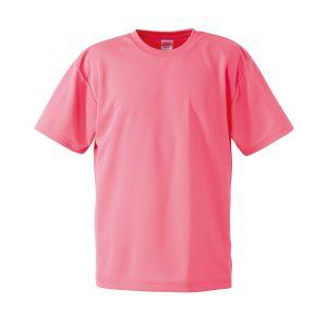 4.1オンスドライTシャツ(蛍光ピンク)