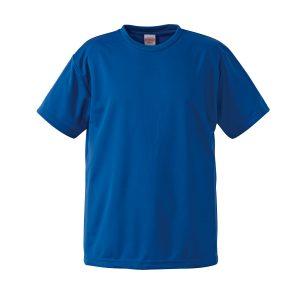 4.1オンスドライTシャツ(コバルトブルー)