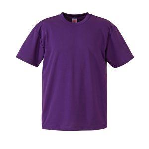4.1オンスドライTシャツ(パープル)