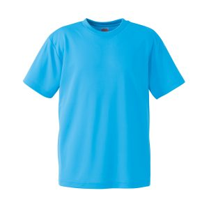 4.1オンスドライTシャツ(アクアブルー)