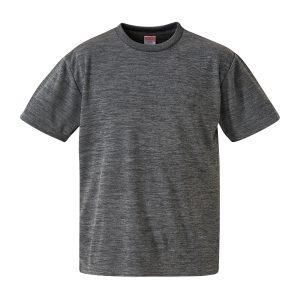 4.1オンスドライTシャツ(ヘザーチャコール)