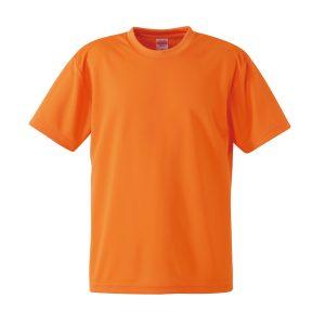 4.1オンスドライTシャツ(オレンジ)