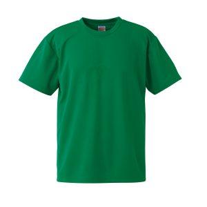 4.1オンスドライTシャツ(グリーン)