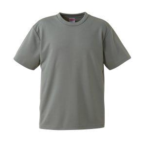 4.1オンスドライTシャツ(グレー)