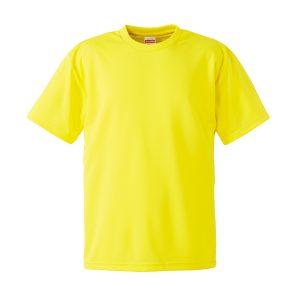 4.1オンスドライTシャツ(イエロー)
