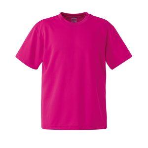 4.1オンスドライTシャツ(トロピカルピンク)