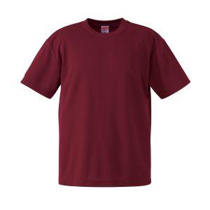 4.1オンスドライTシャツ(バーガンディ)