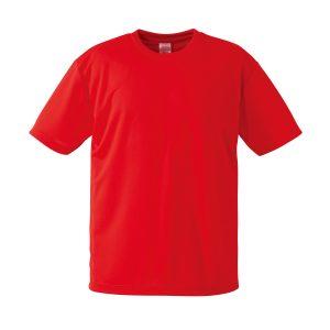 4.1オンスドライTシャツ(レッド)