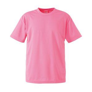 4.1オンスドライTシャツ(ピンク)