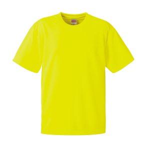 4.1オンスドライTシャツ(蛍光イエロー)