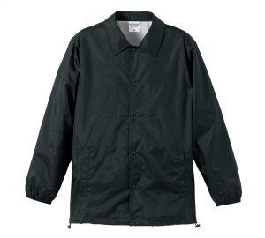ナイロンコーチジャケット(ブラック)