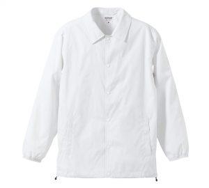 ナイロンコーチジャケット(ホワイト)