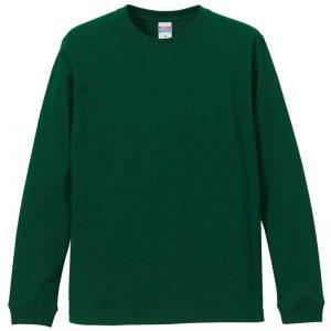 5.6オンスロングスリーブTシャツ(アイビーグリーン)