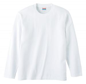 5.6オンスロングスリーブTシャツ(ホワイト)