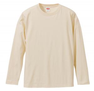 5.6オンスロングスリーブTシャツ(ナチュラル)