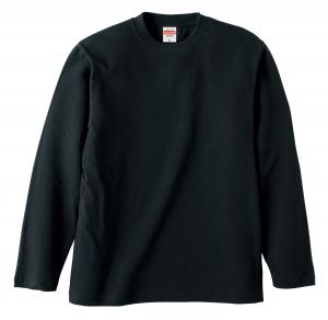 5.6オンスロングスリーブTシャツ(ブラック)