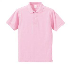 5.3オンスドライカノコのポロシャツ(OXピンク)