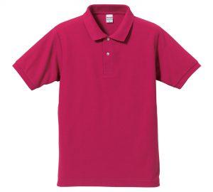 5.3オンスドライカノコのポロシャツ(トロピカルピンク)