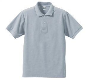 5.3オンスドライカノコのポロシャツ(OXグレー)