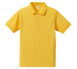 5.3オンスドライカノコのポロシャツ(カナリアイエロー)