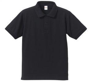 5.3オンスドライカノコのポロシャツ(ネイビー)