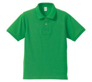 5.3オンスドライカノコのポロシャツ(ブライトグリーン)