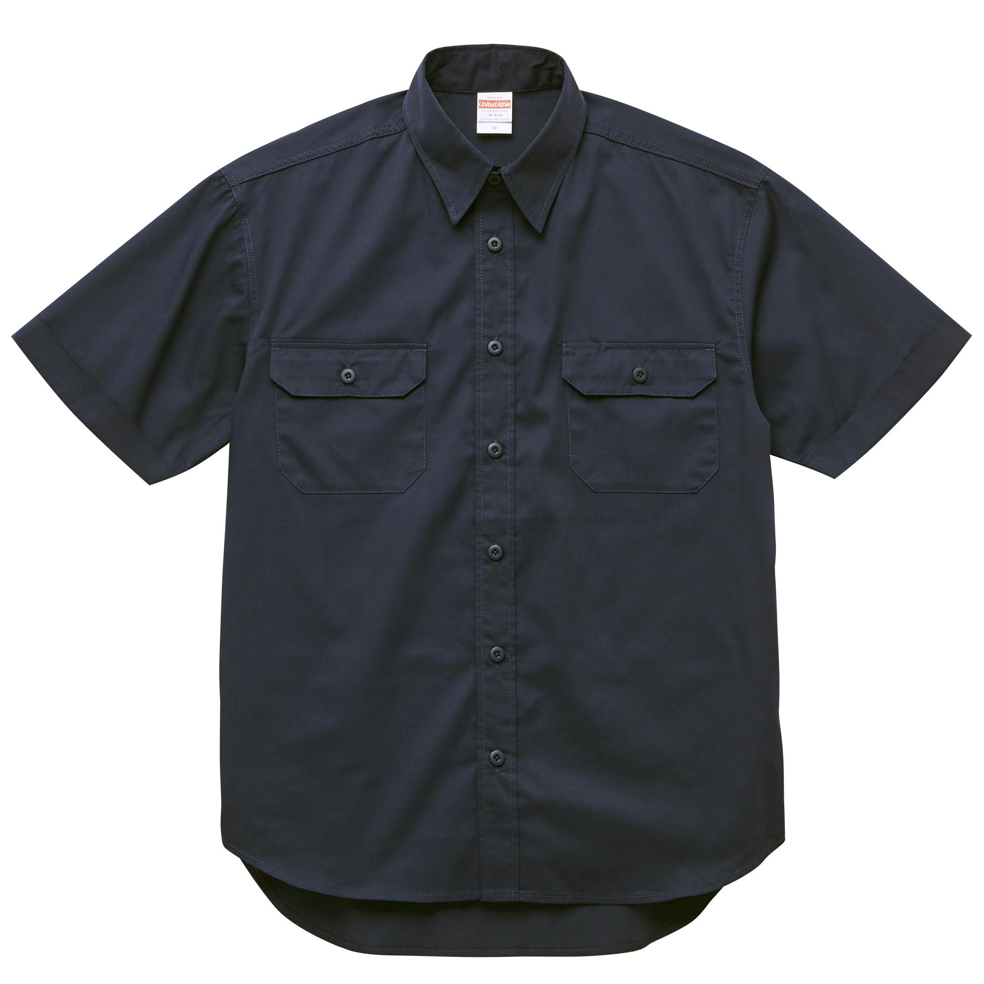 T/C ワークシャツ(ネイビー)