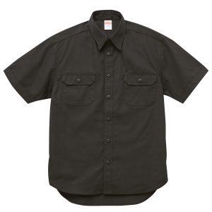 T/C ワークシャツ(ブラック)
