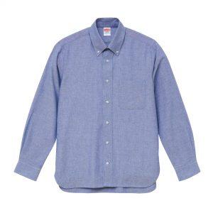 オックスフォードロングスリーブシャツ(OXブルー)