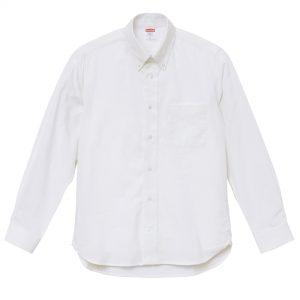 オックスフォードロングスリーブシャツ(OXホワイト)