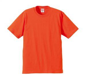 6.2オンスプレミアムTシャツ (カルフォルニアオレンジ)