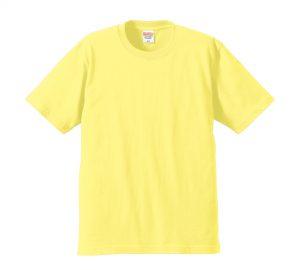 6.2オンスプレミアムTシャツ (ライトイエロー)