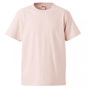 5.6オンスハイクオリティーTシャツ(ベビーピンク)