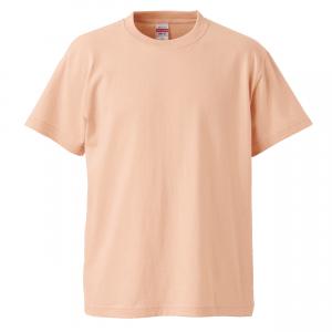 5.6オンスハイクオリティーTシャツ(アプリコット)