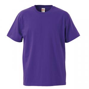 5.6オンスハイクオリティーTシャツ(バイオレットパープル)