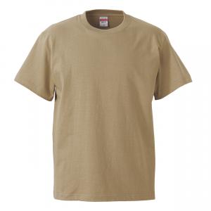 5.6オンスハイクオリティーTシャツ(サンドカーキ)
