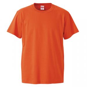 5.6オンスハイクオリティーTシャツ(カルフォルニアオレンジ)