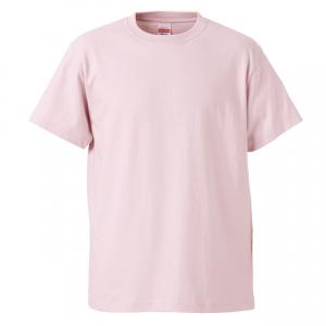 5.6オンスハイクオリティーTシャツ(ライトピンク)