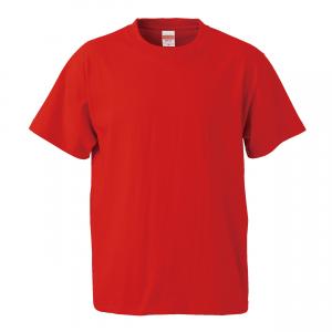 5.6オンスハイクオリティーTシャツ(ハイレッド)
