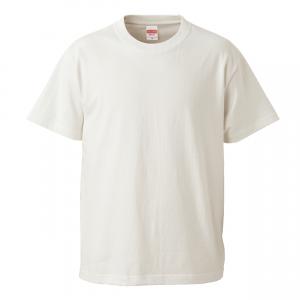 5.6オンスハイクオリティーTシャツ(バニラホワイト)