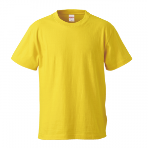 5.6オンスハイクオリティーTシャツ(カナリアイエロー)