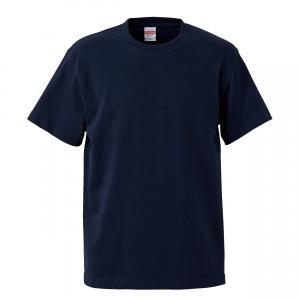 5.6オンスハイクオリティーTシャツ(ネイビー)